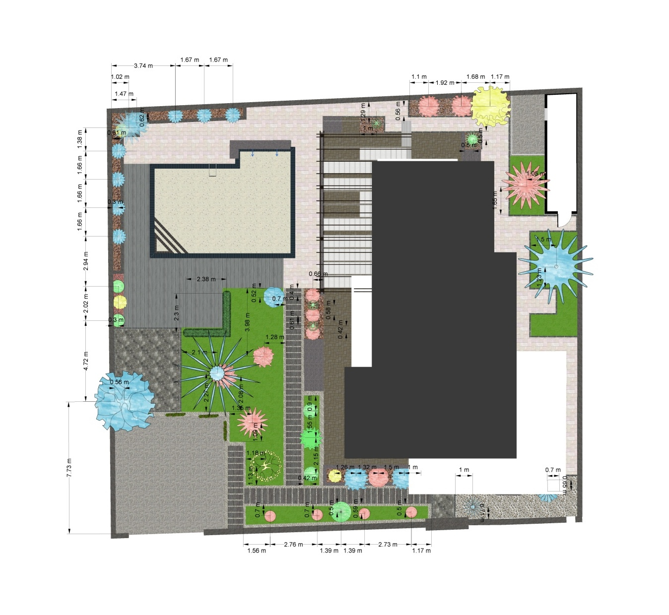 poza proiect gradina plan 2d